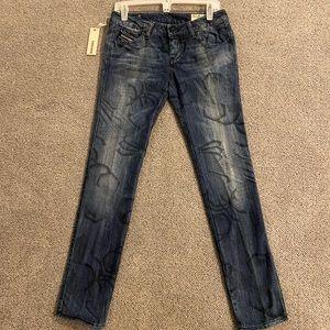 Diesel Cuddy Jeans New Worn